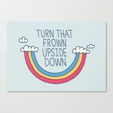 Upside Frown Canvas Print