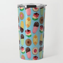 Assorted Cookie Pattern Travel Mug