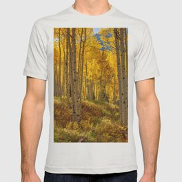 Autumn Aspen Forest Aspen Colorado T-shirt