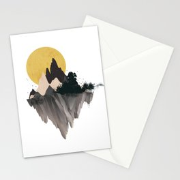 Moon Mountain Stationery Cards