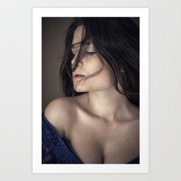 Model Art Print
