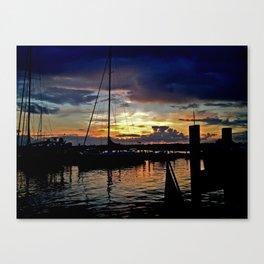 A New England Sunset. Canvas Print