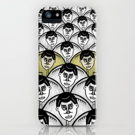 TWO GATHER iPhone Case