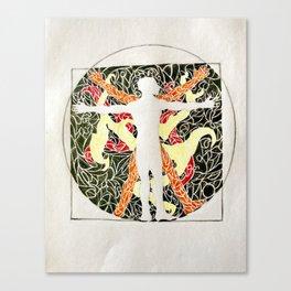 Vitruvio Canvas Print