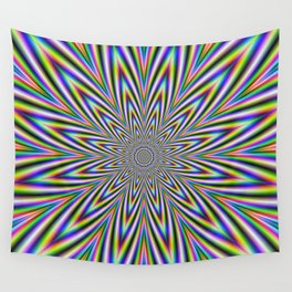 Psychedelic Star Wall Tapestry