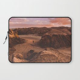Sunset in Valle De La Luna, Chile Laptop Sleeve