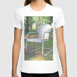 Vintage Chair by the Road T-shirt