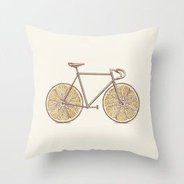 Velocitrus (color version) Throw Pillow