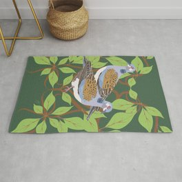 12 Days of Christmas: Two Turtle Doves Rug