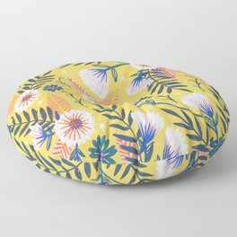 Sunshine florals Floor Pillow