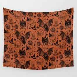 the Spookie Gang Wall Tapestry