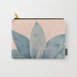 Blush Agave #3 #tropical #decor #art #society6 Carry-All Pouch