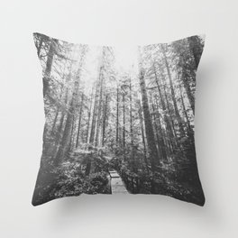 INTO THE WILD XIX Throw Pillow