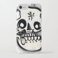 calavera iPhone & iPod Cases featuring Calavera by Happy Tao