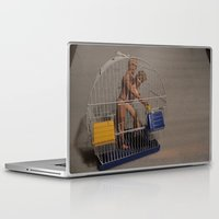 barbie Laptop & iPad Skins featuring Barbie & Ken by Francesco Mestria