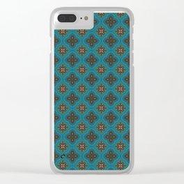 Fleur 3 Clear iPhone Case