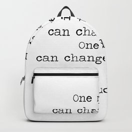 Make the moments count Backpack