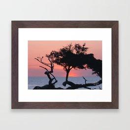 Beautiful California Sunset by Aloha Kea Photography Framed Art Print