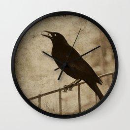 Blackbird 2 Wall Clock