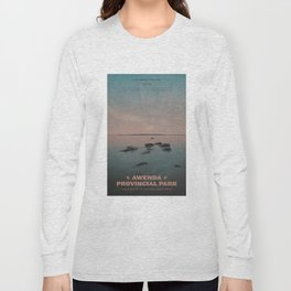 Awenda Provincial Park Long Sleeve T-shirt