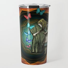 Alice In Wonderland - Let The Magic Begin Travel Mug