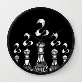 Genie in a Bottle Wall Clock