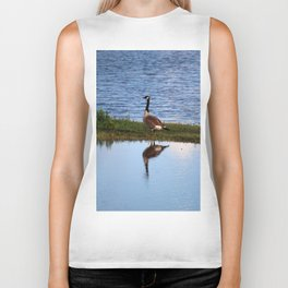 Goose Reflection Biker Tank