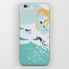 Pond In Palm iPhone Skin