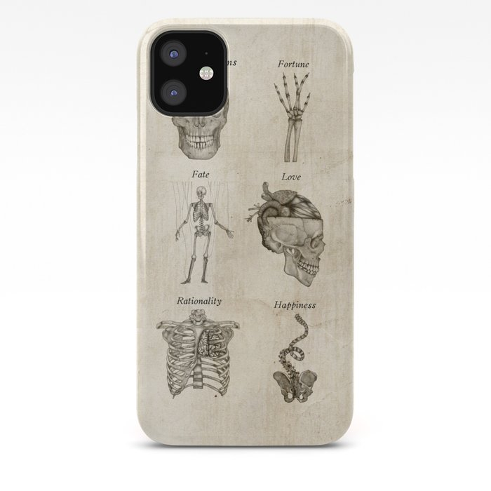 Anatomy lessons iPhone Case