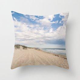 Scarborough Beach Throw Pillow