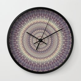 Mandala 537 Wall Clock