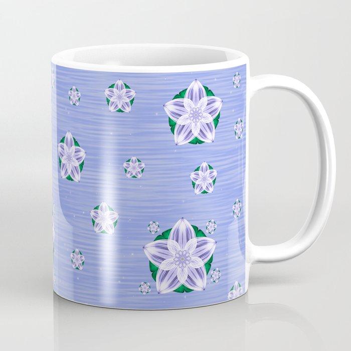 Frozen Floating Flower Coffee Mug
