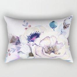 Flowers Bouquet #57 Rectangular Pillow