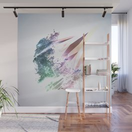 Pointillated Wall Mural