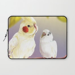 Budgie and Cockatiel Laptop Sleeve
