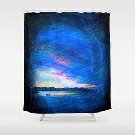 Fantasy Landscape Shower Curtain