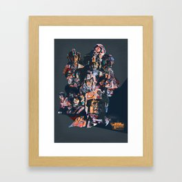 Rogue Squadron // Unsung Heroes of Star Wars Framed Art Print