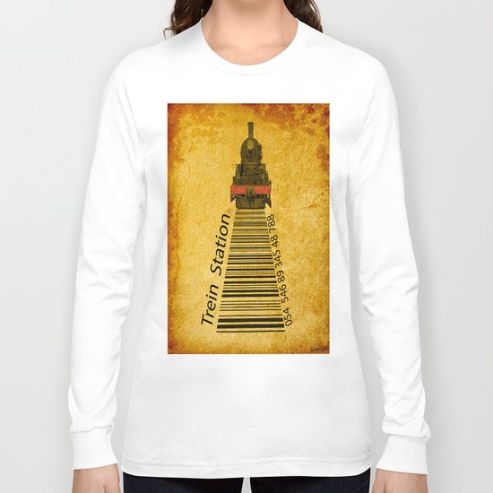trein in station  Long Sleeve T-shirt