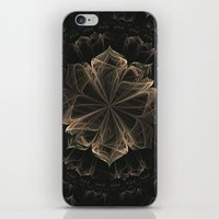 ornate iPhone & iPod Skins featuring Ornate Blossom by Charma Rose