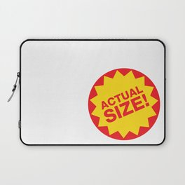 Actual Size! Laptop Sleeve