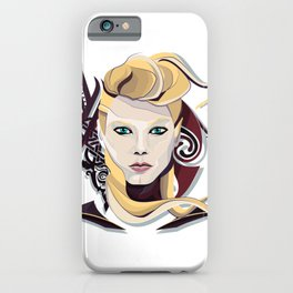 Queen Lagertha iPhone Case