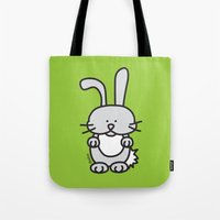 farm Tote Bags featuring Farm by oekie