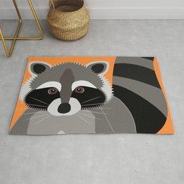 Raccoon Mischief Rug