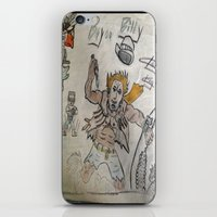 butcher billy iPhone & iPod Skins featuring billy by oldschoolking