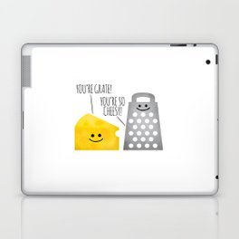 Cheesy Couple Laptop & iPad Skin