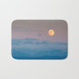 Full super moon December 2017 Bath Mat
