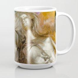 golden barbie with flower Coffee Mug
