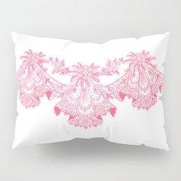 Vintage Lace Pink Hankies Pillow Sham