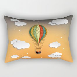 Balloon Aeronautics Dawn Rectangular Pillow