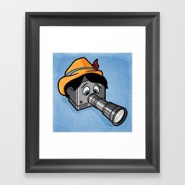 The Camera Never Lies... Framed Art Print